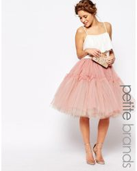 True Decadence - Tulle Skirt - Lyst
