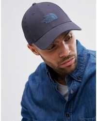 The North Face - 66 Classic Logo Cap In Urban Navy - Lyst