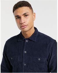 SELECTED - Свободная Вельветовая Рубашка Темно-синего Цвета -темно-синий - Lyst