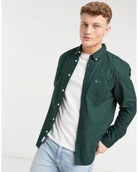 Jack Wills – Wadsworth – Schmal geschnittenes Oxford-Hemd - Grün