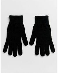 ASOS – e Handschuhe - Schwarz