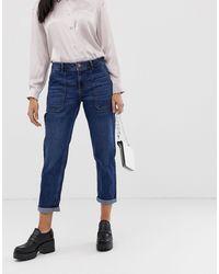 Oasis Straight Leg Jeans - Blue