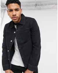 Weekday Core Denim Jacket - Black