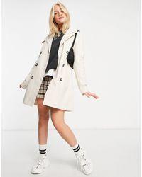 Pimkie Trench Coat - White