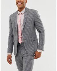 ASOS Slim Fit Bright Pink Tie