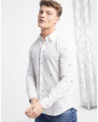 Paul Smith - Белая Рубашка С Длинными Рукавами Классического Кроя -белый - Lyst