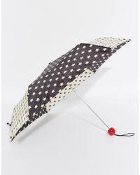 Lulu Guinness - Superslim 2 Stars Umbrella - Lyst
