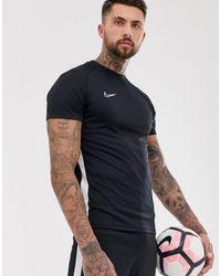 Nike Football Nike Soccer Academy T-shirt In Black