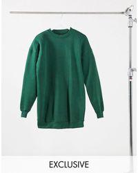 Daisy Street Зеленое Трикотажное Платье В Стиле Oversized -зеленый Цвет