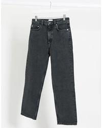French Connection – Lillian – Knöchellange Straight Jeans - Schwarz