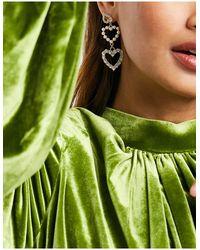 True Decadence Boucles d'oreilles en forme - Vert