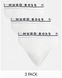 BOSS by Hugo Boss Набор Из 3 Белых Боксеров-брифов -белый