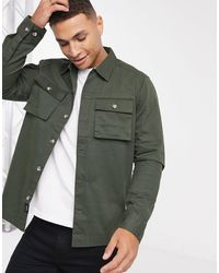 Only & Sons Utility - Overshirt - Groen