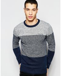 Firetrap - Stripe Knitted Sweater - Lyst