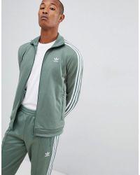 b0cc07a711c5 adidas Originals - Beckenbauer Track Jacket In Green Dh5820 - Lyst