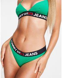 Tommy Hilfiger Зеленые Трусы Бикини Tommy Jeans-зеленый Цвет