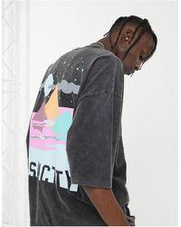 ASOS Oversized T-shirt - Zwart