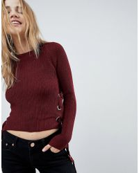 Girls On Film - Jumper With Tie Sides - Lyst