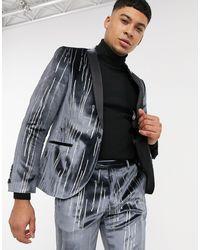 Twisted Tailor Giacca da abito - Grigio
