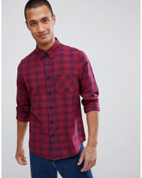 Lee Jeans - Jeans Checked Shirt - Lyst