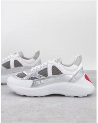 Love Moschino Chunky Sneakers - Grey