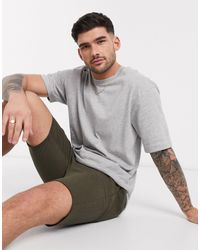 SELECTED Oversized T-shirt - Grey