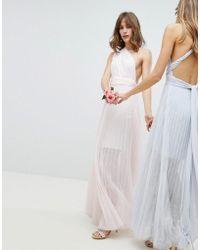 Coast - Corwin Multi Tie Maxi Dress - Lyst