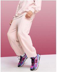 ASOS 4505 Розовые Джоггеры С Заниженным Шаговым Швом В Стиле Oversized -розовый Цвет