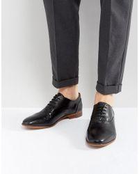 Kurt Geiger | Oliver Leather Shoes In Black | Lyst