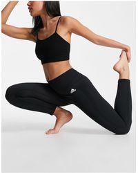 adidas Originals - Черные Бесшовные Леггинсы Adidas Training-черный - Lyst