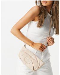 Urbancode Leather Tuck Detail Shoulder Bag - Multicolour