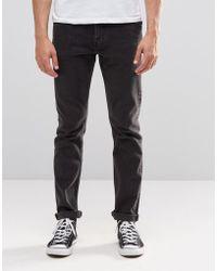 Weekday Friday Skinny Jeans Nas Black