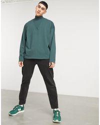 ASOS Camiseta verde oscura extragrande