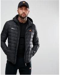 Ellesse Lombardy Padded Jacket - Black