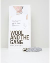 Wool And The Gang - Wool & The Gang Diy Mixi Macrame Choker Necklace Kit - Lyst