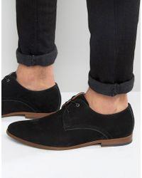 ALDO - Viralian Oxford Shoes In Brown Black - Lyst