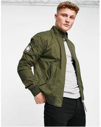 Pretty Green Derwent - giacca harrington - Verde