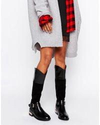 Glamorous Riding Knee Boots - Black