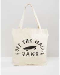 Vans - Off The Wall Logo Tote Bag - Lyst