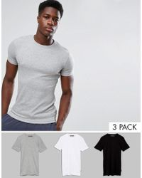 French Connection - 3 Pack Lounge T-shirt - Lyst