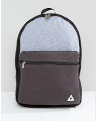 Le Coq Sportif Pop Sportif Backpack - Gray