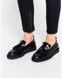 Fred Perry - X George Cox Tassle Leather Loafers - Lyst