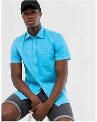 Benetton Camisa - Azul