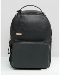 Glamorous | Minimal Structured Backpack | Lyst