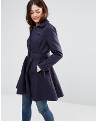 Sugarhill - Kerry Mac Jacket - Navy - Lyst