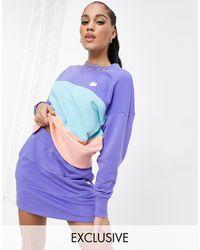 PUMA Downtown Colourblock Sweatshirt - Blue