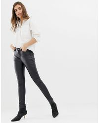B.Young Super Shiney Coated Jeans - Black