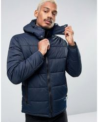 Esprit - Quilted Jacket - Lyst
