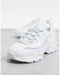 Skechers – D'Lites Fash – Sneaker - Weiß