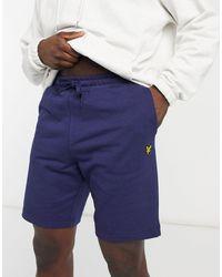 Lyle & Scott Sweat Shorts - Blue